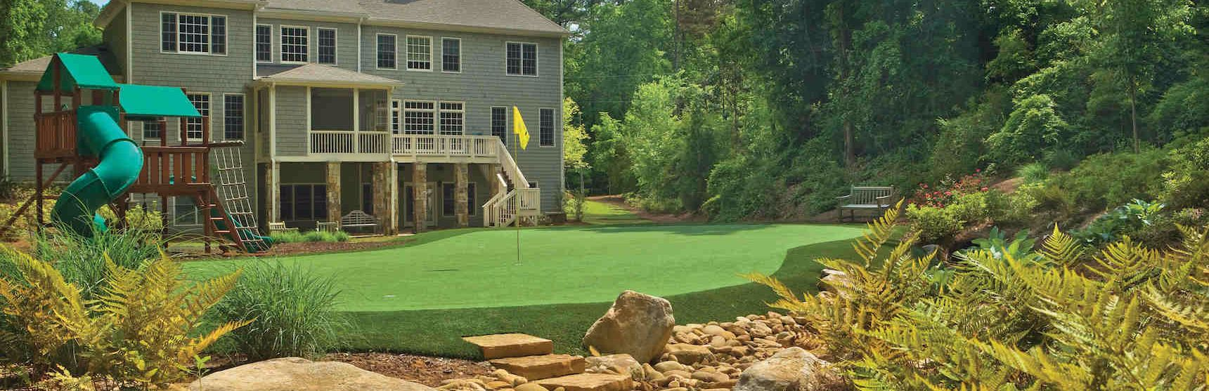 Tour Greens Backyard Putting Green Cost, Putting Green In Garden Cost