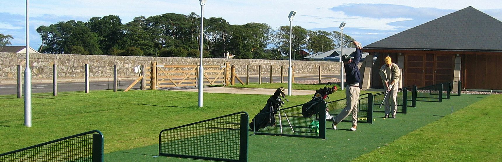 tour greens driving ranges