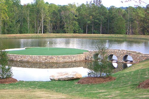 Professional Landscape Design - Tour Greens Backyard Golf Courses