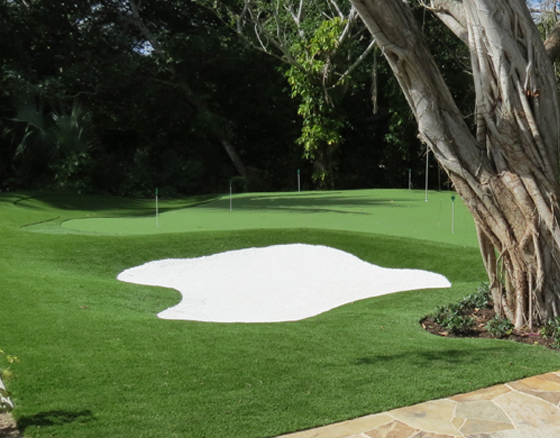 Private Island Golf Green