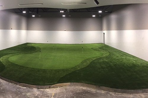 Indoor Putting Greens for Offices and Commercial Facilities