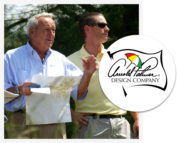 exclusive partner of Arnold Palmer Design Company