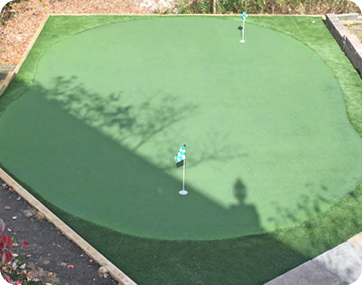 The Carolina Modular Putting Green