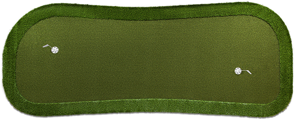 15'x6' Portable Green - 2 Cups