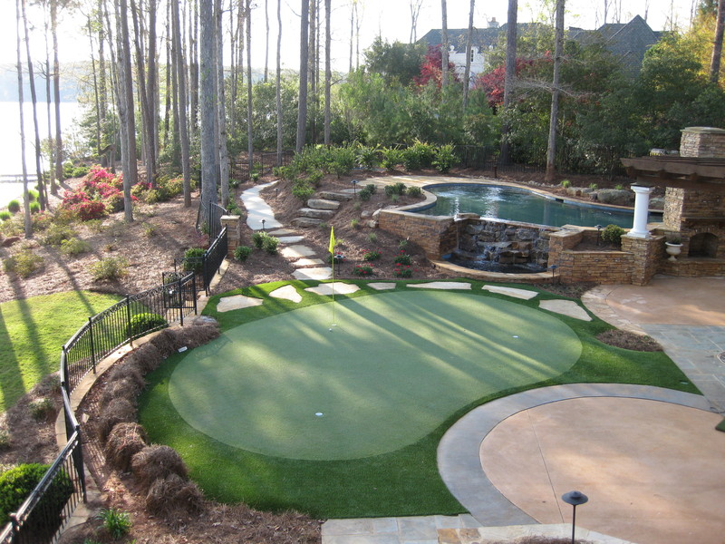 Tour Greens | Outdoor Putting Greens on Putting Green Ideas For Backyard id=65371