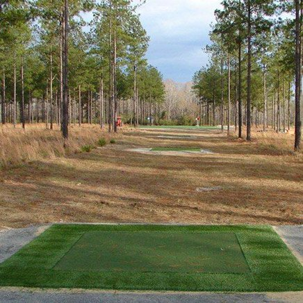 Blake Adams Practice Facility - Tour Greens Synthetic Golf Greens & Backyard Putting Greens