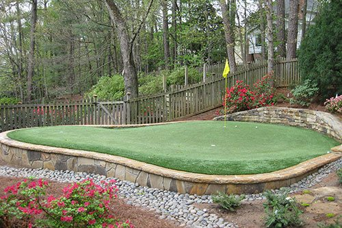 Short Game Green - Tour Greens Backyard Putting Green Cost