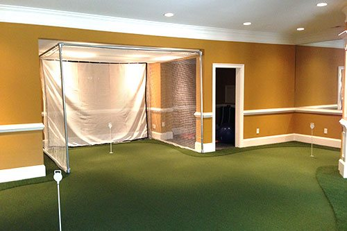 Indoor Putting Green Design